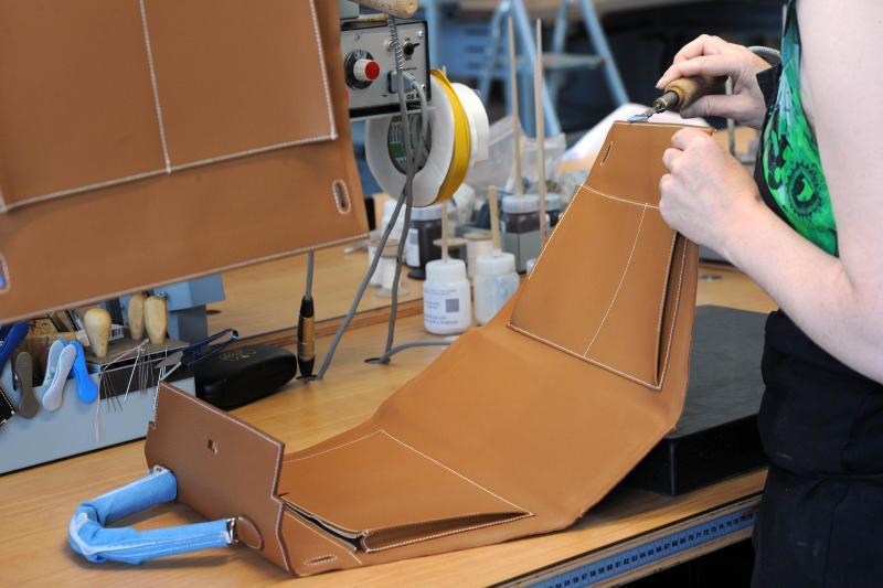 94c4e9179d51 Hermes Managing Director of leather goods Emmanuel Pommier at the  Maroquinerie de la Tardoire