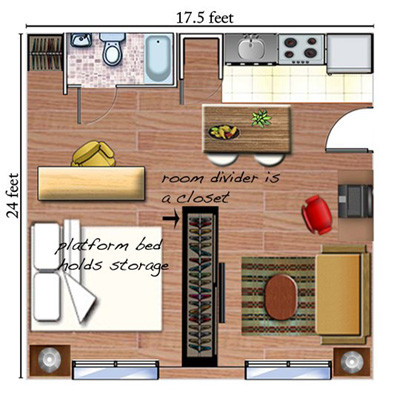 12 design ideas to turn your tiny apartment into a beautiful