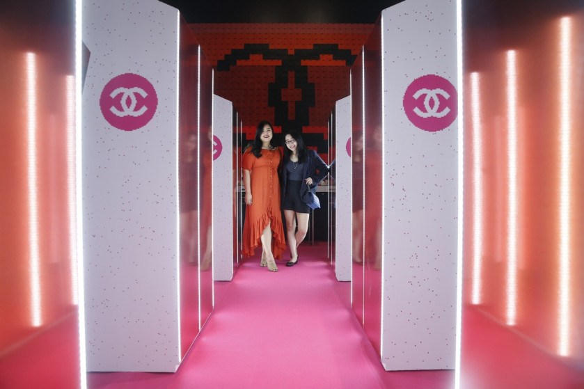 Check out Chanel Coco Game Center, the super fun beauty pop