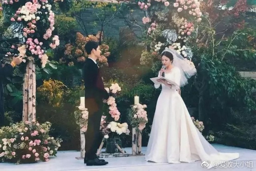 Song and Song couple to tie knot in tightly guarded ceremony
