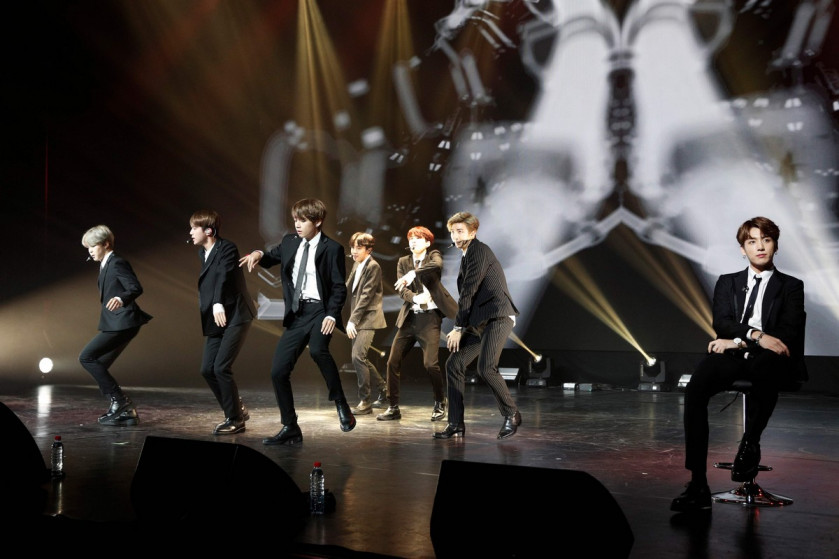 BTS 'Burn the Stage' beats out One Direction in US theatres