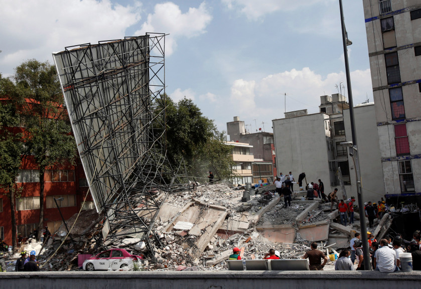 Nearly a week on, hopes fade in Mexico City quake rescue