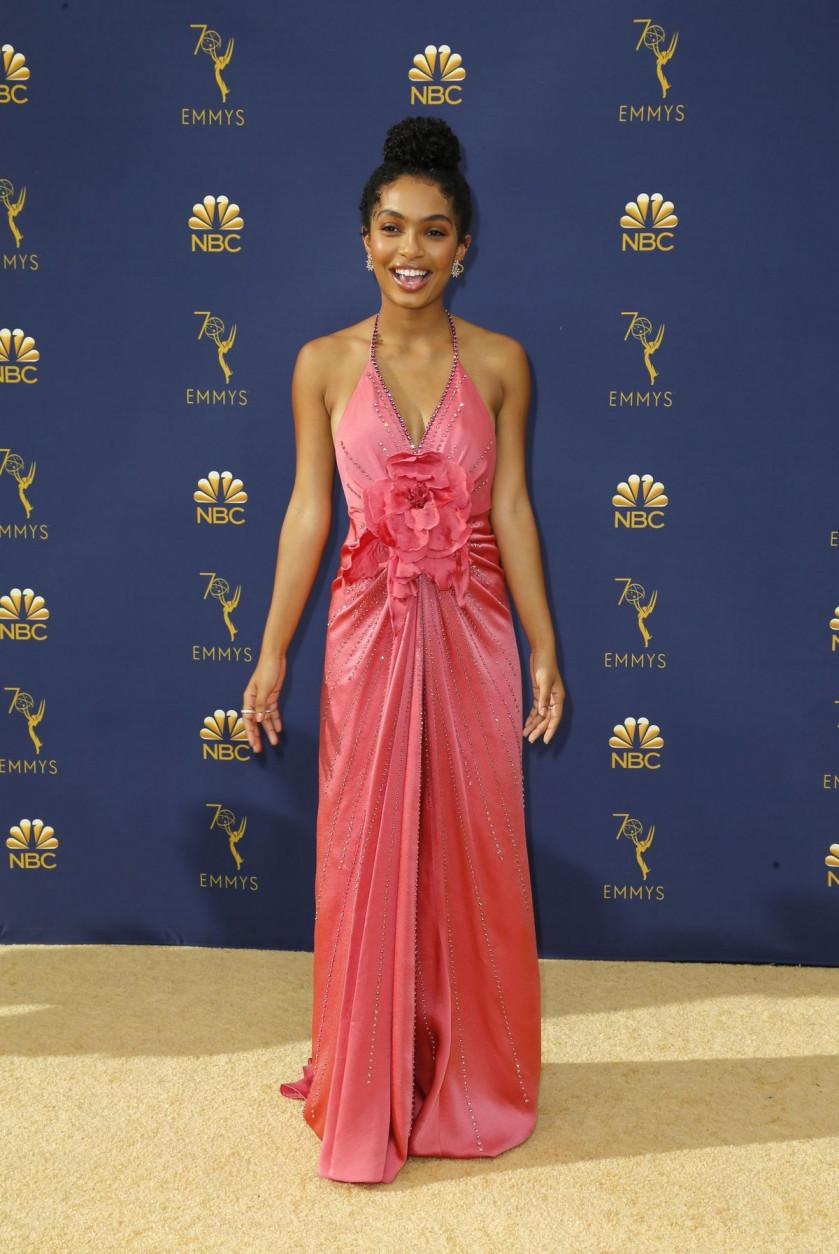 c27b3434f888 Emmys fashion: white-hot, glamorous and political, Entertainment ...