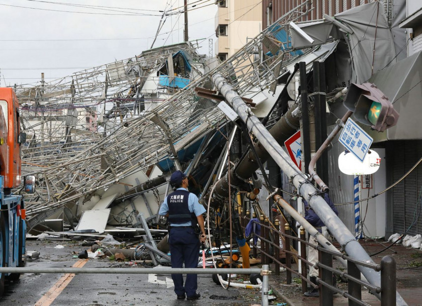 After quakes and flooding, Japan picks 'disaster' as 2018 symbol