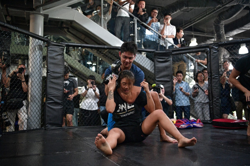 Joseph goes Schooling at 'fight camp' by Singapore's MMA
