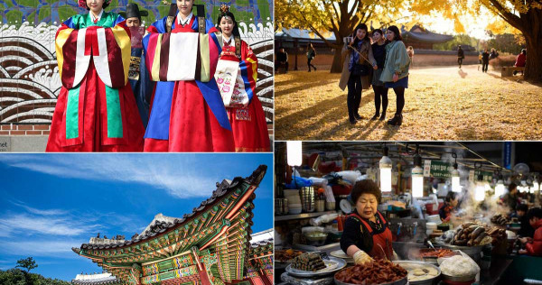 Holiday in South Korea for 12 days on a $1,600 budget