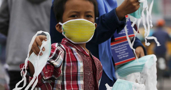 Exposed Face Wear To Philippine Palace Tells Masks Haze People