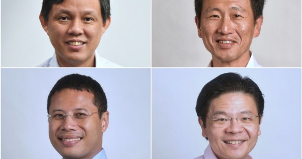 Who will be next to lead the PAP's 4G team? 4 men have emerged as likely candidates to fill DPM Heng Swee Keat's shoes, Singapore News