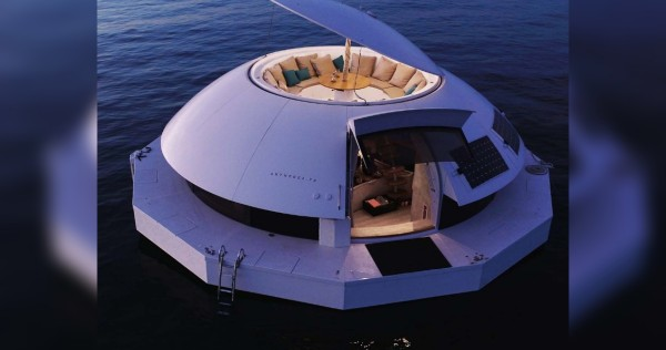 These floating, eco-friendly pods could be your next getaway