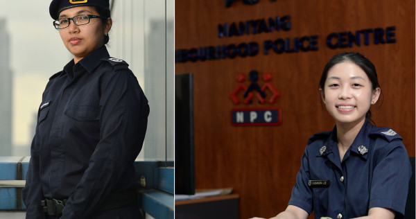 A look into the lives of 4 female S'pore police officers
