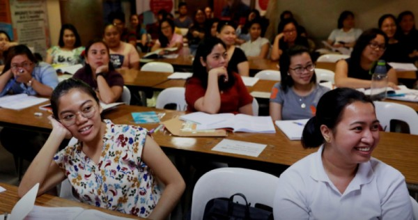 Philippines offers nurses in exchange for vaccines from Britain, Germany