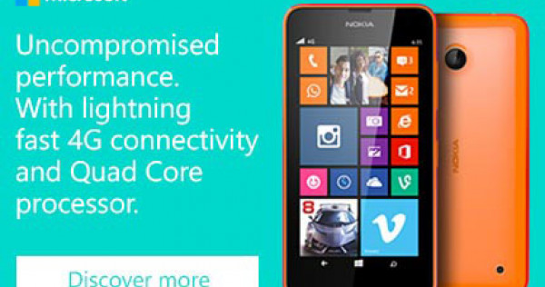 Stay Connected with the Nokia Lumia 635, News - AsiaOne