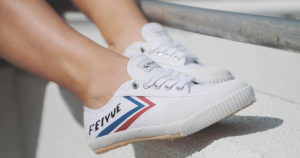 How Feiyue, shoes of Shaolin monks, are