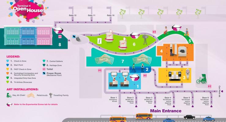 Singapore opens new, high-tech airport terminal, Singapore