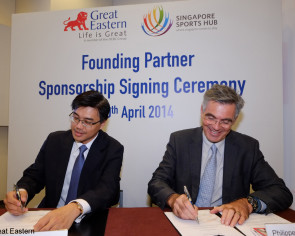 Great Eastern is official insurance partner of Singapore Sports Hub