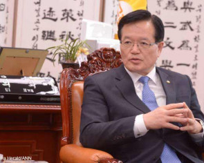 Top Korean lawmaker seeks to pass peace pact