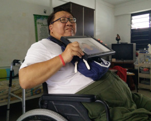 Twice homeless, man grapples with disability after severe fall left him wheelchair-bound