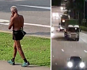 Half-naked man jogging on AYE is also a common sight in the west, says eyewitness