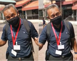 Smoker's attempt at shaming an enforcement officer backfires on him