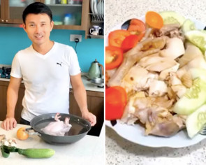 MP Baey Yam Keng flexes culinary muscles on Instagram during circuit breaker by cooking chicken rice