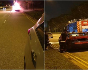 Cabby dies after taxi catches fire in Seletar West