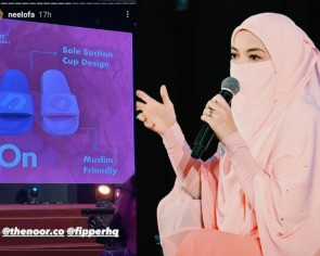 'Muslim-friendly' slippers from Malaysian celebrity Neelofa and footwear brand collab draws criticism