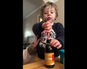 This mum's genius toddler medicine hack can ease every parent's headache