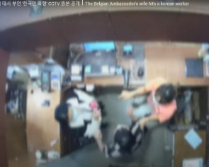 Footage of Belgian ambassador's wife slapping shopkeeper outrages South Koreans