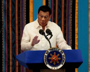 Philippines' Duterte would send navy ships in South China Sea to assert claim over resources