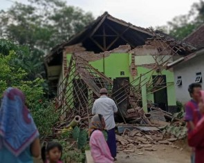 Indonesia's Java hit by magnitude 5.9 quake, 7 killed