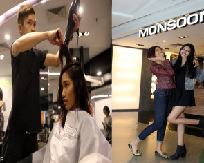 Tress chic: TNP New Face girls get new hairdos