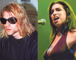 No happy endings for Amy Winehouse & Kurt Cobain