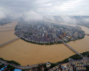 Stronger typhoons, bigger waves loom over China