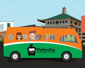 Eat your way through Singapore on a Makan Bus