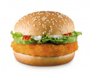 McDonald's launches all-veggie burger