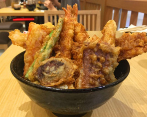 Best thing I ate this week: Tempura rice bowl
