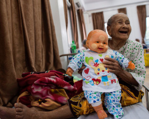 'Twilight Villa': Home of Myanmar's abandoned elderly
