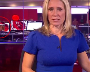 BBC accidentally airs topless woman on live TV