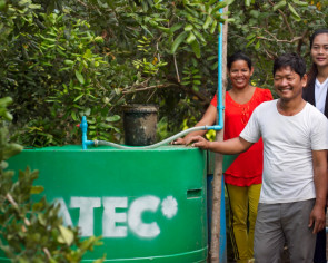 Turning manure into fuel in rural Cambodia with the biodigester
