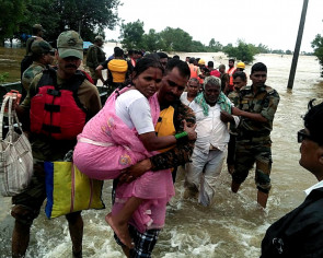 One million moved into camps, 184 dead in India monsoon floods
