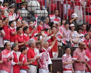 Red, white and local: What ministers and MPs wore to NDP 2019
