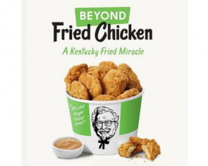 KFC to test meatless chicken at US restaurant