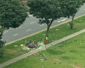 Netizens explain why joss paper is tossed in the air, but religious leaders have urged against it