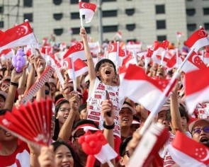 Military parades, aerial displays and songs sung in unison - here's why these are some of our favourite NDP memories
