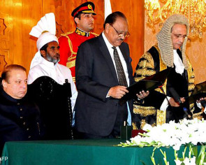 Pakistan swears in new chief justice