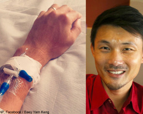 MP Baey Yam Keng discharged from hospital