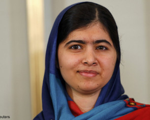 Malala sees herself as prime minister of Pakistan in 20 years