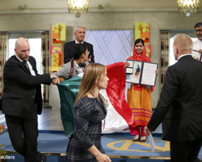 Mexican fined $2,700 for disrupting Nobel award ceremony