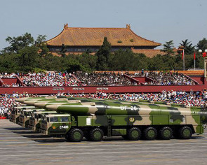 Stealth tech on view in Beijing parade