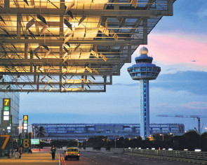 Changi's busiest links with four cities